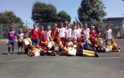 Турнир по футболу «Летние каникулы» МБУ СШ №7 МОГК, 2009-10 год рождения