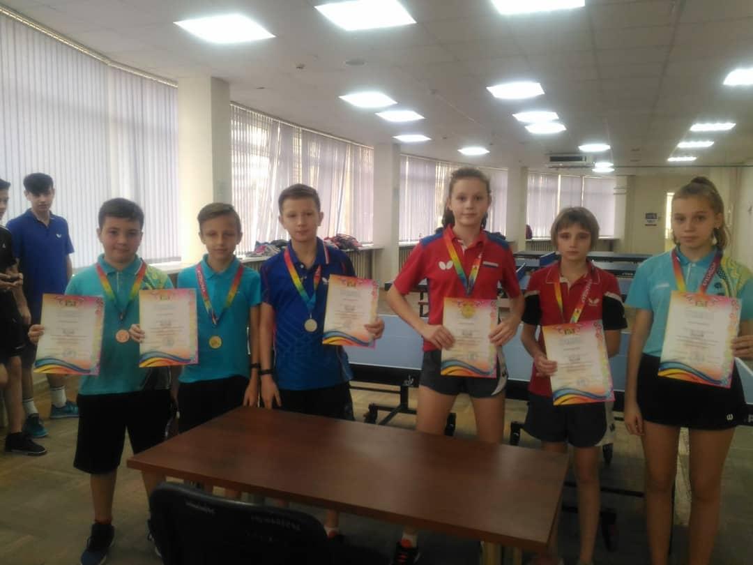 Чемпионат муниципального образования город Краснодар по настольному теннису