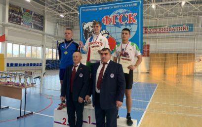Первенство Краснодарского края по гиревому спорту
